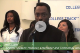 Black Eyed Peas Artist Honors College-Bound Students