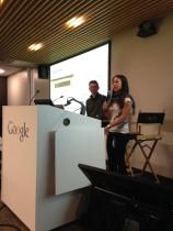 Google News #HacksHackers event